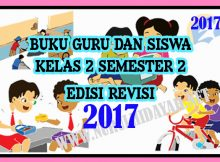 Buku Guru Dan Siswa K13 Revisi 2017 Kelas 2 Semester 2