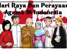 Hari Raya Dan Perayaan Agama Di Indonesia