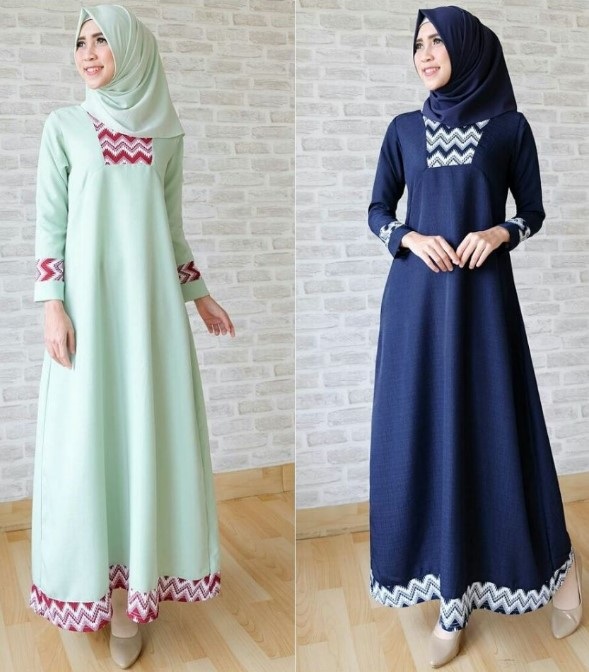 Baju Lebaran gamis cantik