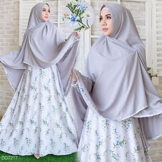 Baju Lebaran gamis syari