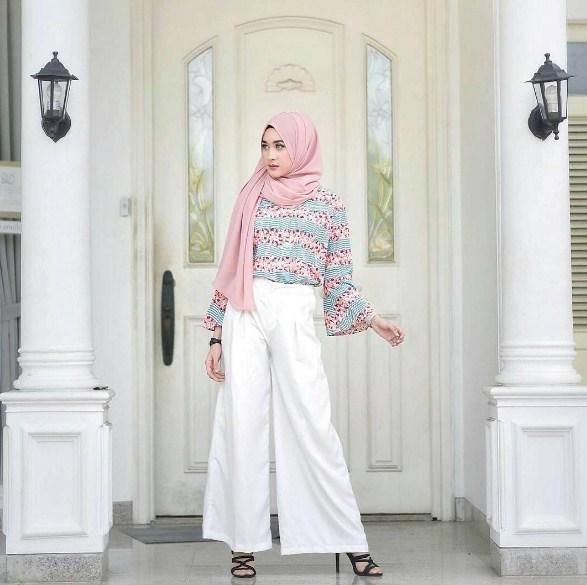 Celana-Kulot-Baju-Muslim untuk lebaran