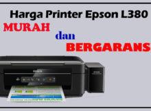 Printer Epson L380 Murah dan bergaransi