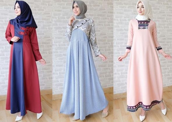 Model-Baju-Muslim-Yang-Akan-Menjadi-Trend-Fashion-Lebaran-2018