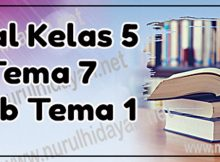 Soal Tema 7 Kelas 5 Sub Tema 1