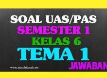 Soal UAS Tematik Kelas 6 Tema 1