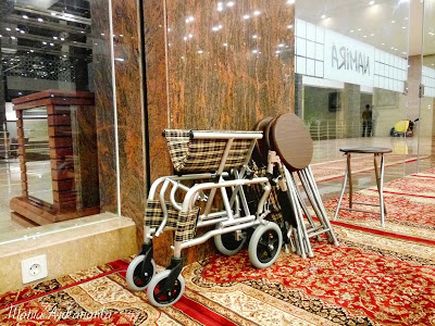 kursi roda masjid namira lamongan