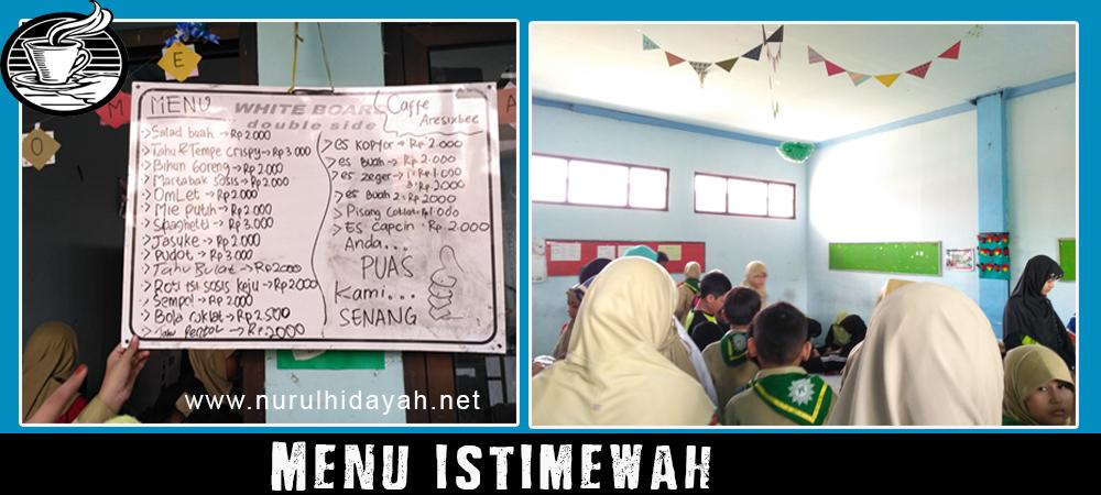 menu istimewah cafe sd muhammadiyah 2 bojonegoro