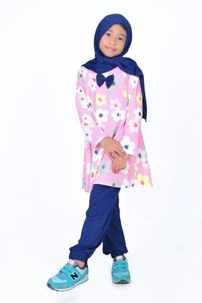 model gamis anak perempuan