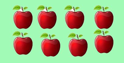 penjumlahan apel