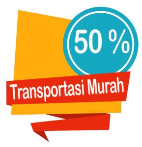 pilih transportasi murah