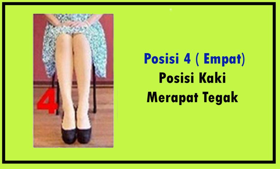 posisi kaki cewek ke 4 berdasarkan sifatnya