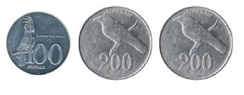 seratus rupiah