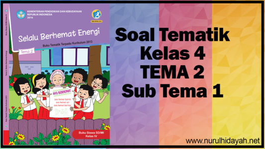 soal tematik kelas 4 tema 2 sub tema 1 (2)
