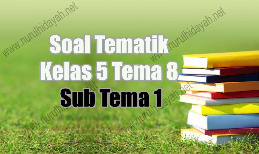 soal tematik kelas 5 tema 8 subtema 1
