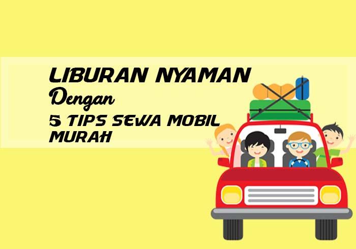 tips sewa mobil